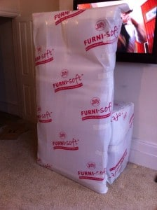 Fully packed fragile item